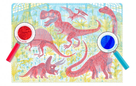 Discover the Dinosaurs Observation Puzzle (200 pieces)