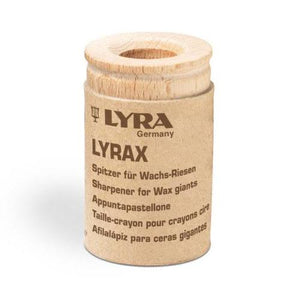 Lyra Wooden Sharpener (for Stockmar stick crayons / Lyra Groove Triple One)