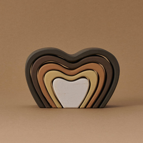 Skin Tone Heart Arch Stacker