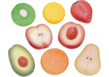 Sensory Play Stone - Fruits (8pcs)