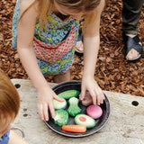Sensory playstone - Vegetables (8pcs)