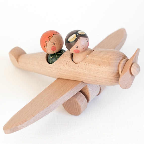 Airplane with Pilot & Passenger