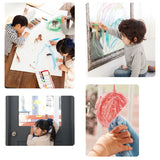 Kitpas Art & Window Block Crayon (8 Colours)