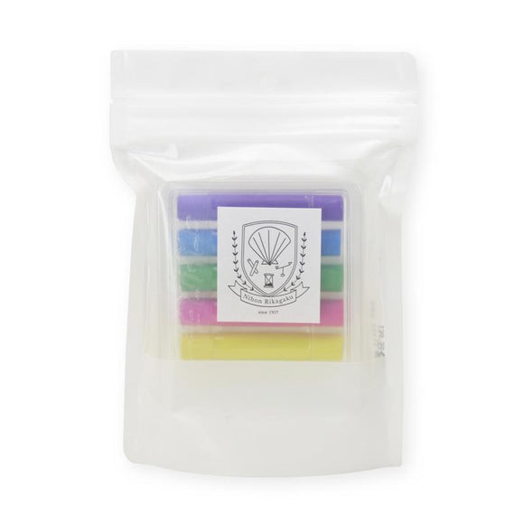 Kitpas Dustless Art Chalk (6 Colours)