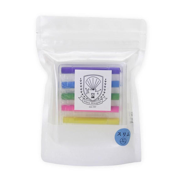 Kitpas Dustless Art Chalk - Slim (6 Colours)
