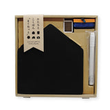 "Kitpas ""Shape Your Days"" Magnetic Chalkboard Set"
