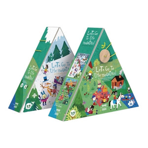 Let's Go To The Mountain Reversible Puzzle (36 pieces)