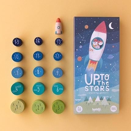 Up to the Stars! Stacking & Counting Game