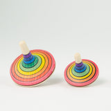 Small Rallye Spinning Top - Rainbow