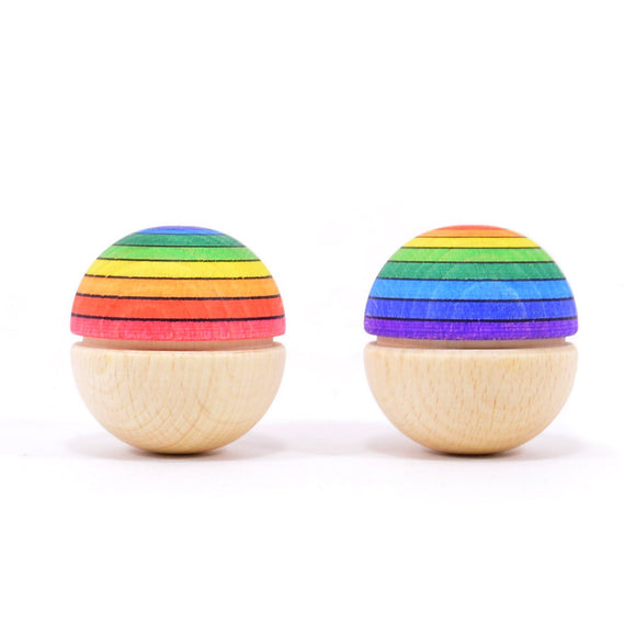 Mader Roly Poly Wiggle Ball - Rainbow