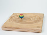 Mader Ash Wooden Plate for Spinning Top - 25cm