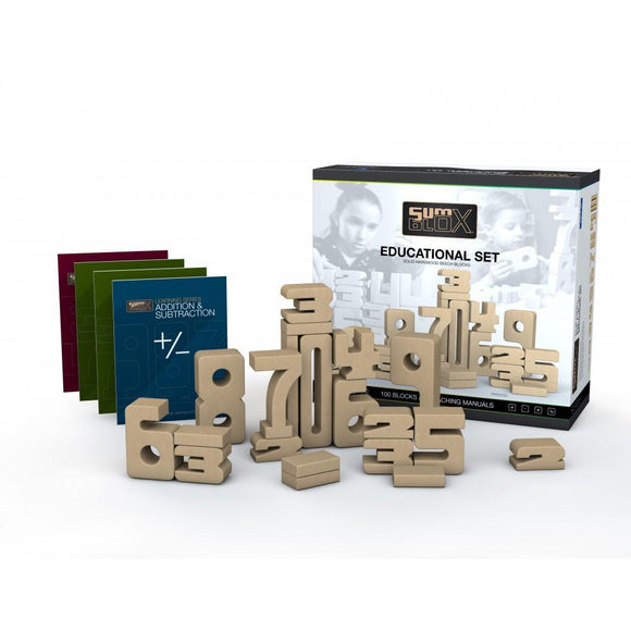 SumBlox Building Blocks Educational Set (100 Pieces)