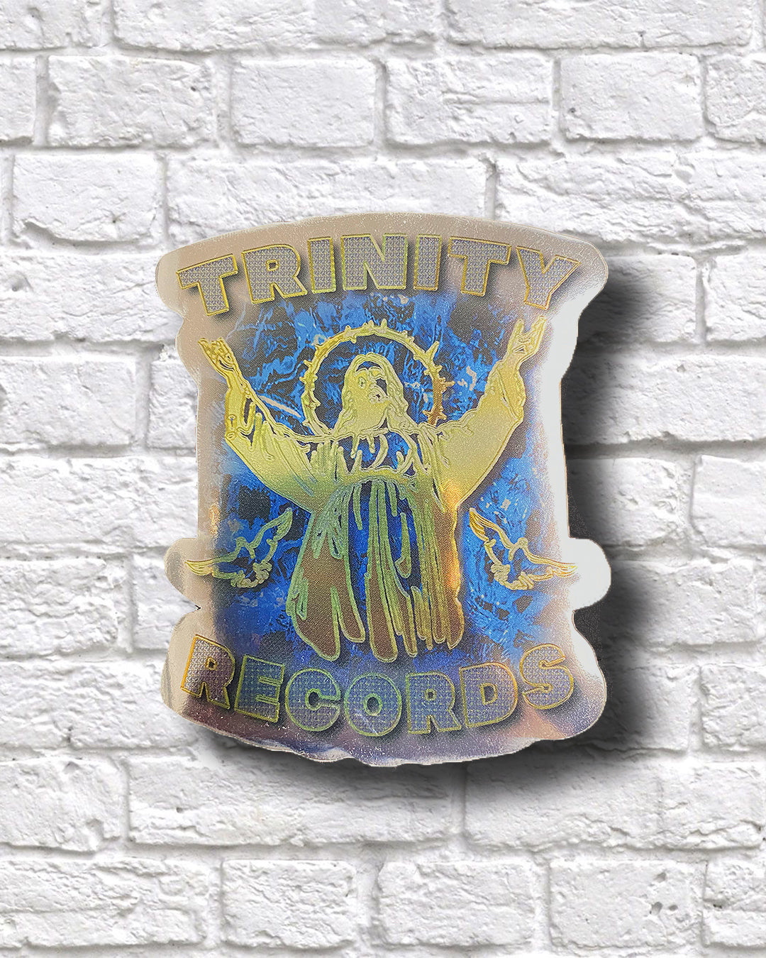 TRINITY RECORDS STICKER