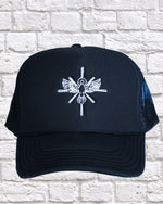 Load image into Gallery viewer, ANOINTED BLACK TRUCKER HAT