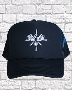 ANOINTED BLACK TRUCKER HAT