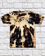 Load image into Gallery viewer, BLEACH DYE BE A LIGHT TEE