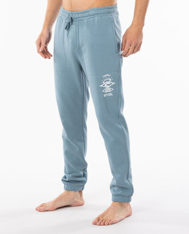 SEARCH LOGO TRACKPANT - BOYS MID BLUE