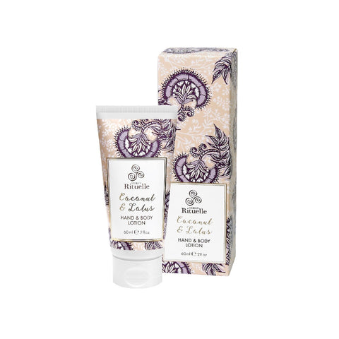 COCONUT AND LOTUS HAND AND BODY LOTION
