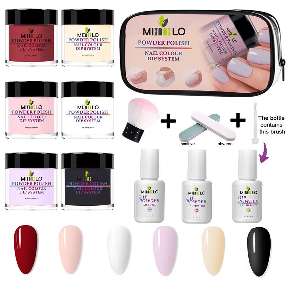 Dipping Powder Nail Kit, 11 pcsKiraVogue