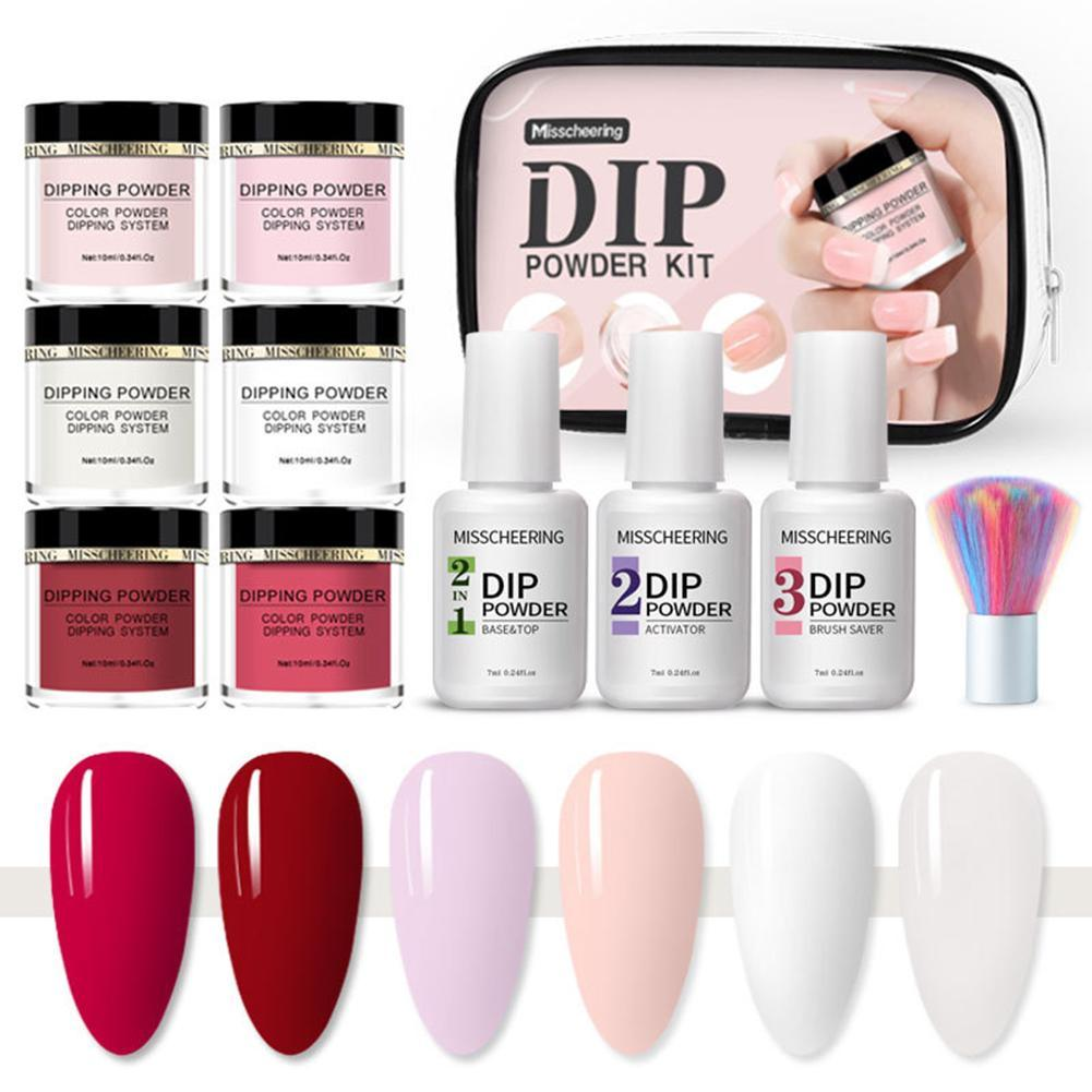 Dipping Powder Set Nail Polish Set , 10 pcsKiraVogue