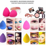 Drop - Shaped Cosmetic Blend Make-up Sponge, 8/caseKiraVogue