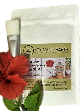 Hibiscus Face Mask - KiraVogue