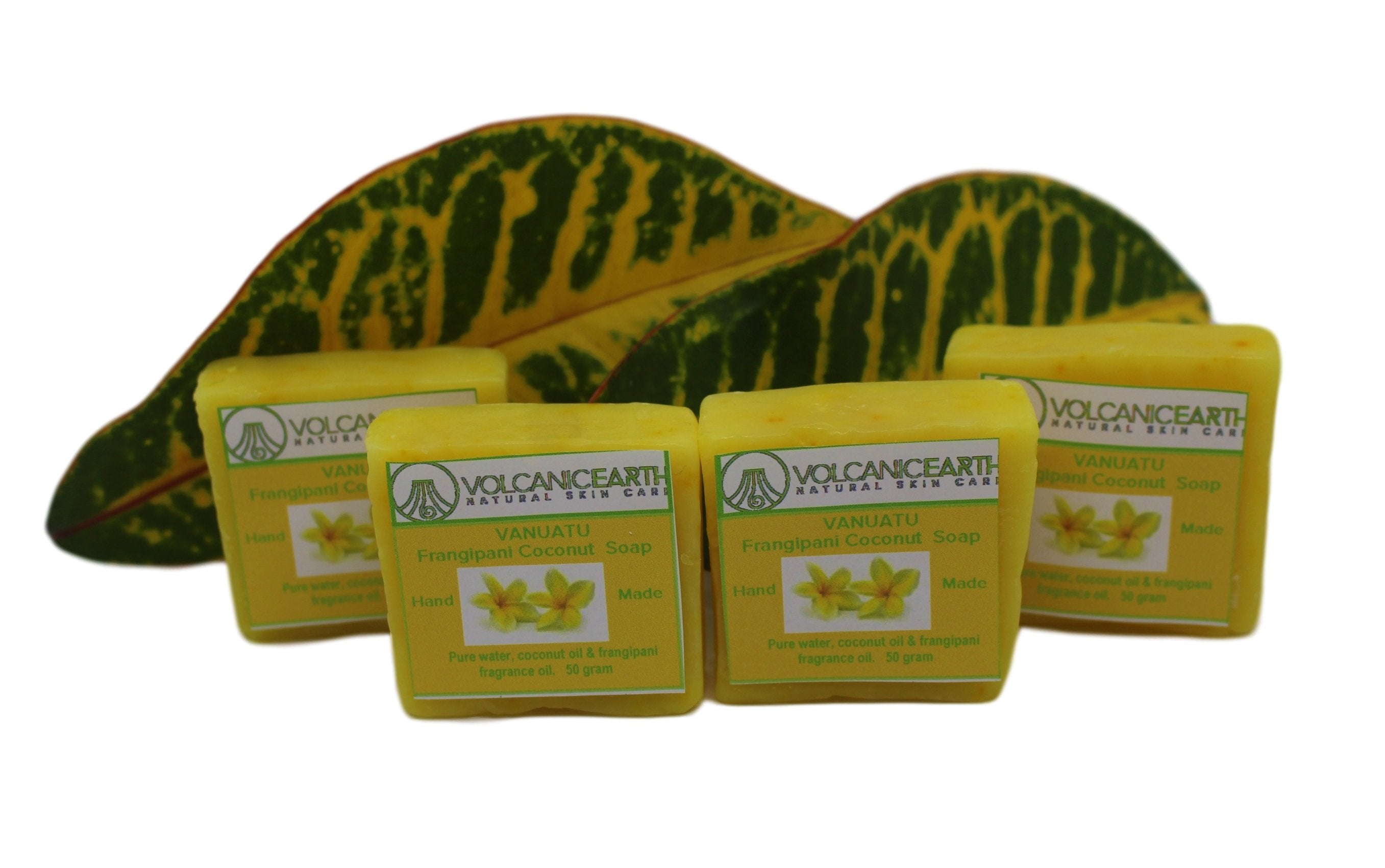 Frangipani - Pack of 4 (small) Soaps - KiraVogue