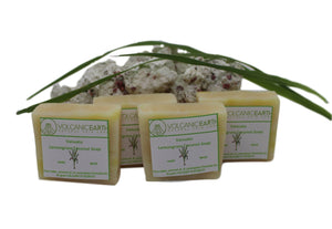 Organic Lemongrass Soap Lemongrass Pack of 4 (small) Soaps - KiraVogue