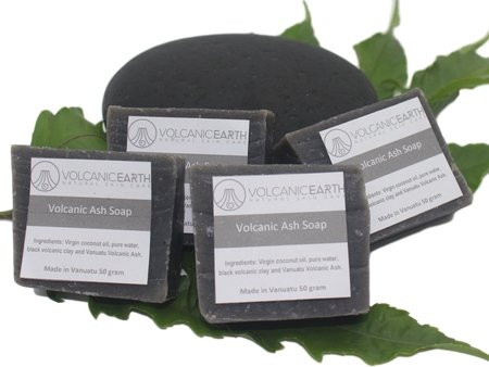 Volcanic Ash -Pack of 4 (small) Soaps - KiraVogue