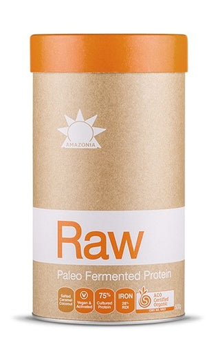 Amazonia Raw Paleo Fermented Protein - Salted Caramel Coconut