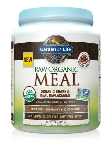 Garden of Life Raw Organic Meal Replacement - Chocolate