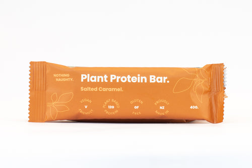 Nothing Naughty Plant Protein Bar - Salted Caramel