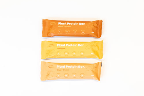 Nothing Naughty Plant Protein Bars (Box of 12) - Natural