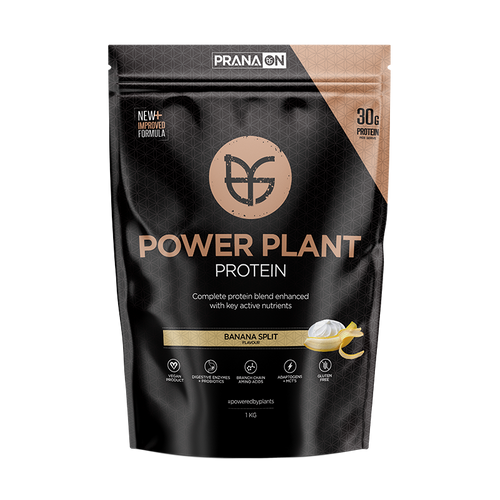 PranaOn Power Plant Protein - Banana Split