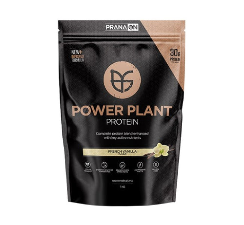 PranaOn Power Plant Protein - French Vanilla