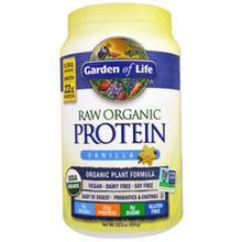 Load image into Gallery viewer, Garden of Life Raw Organic Protein - Vanilla