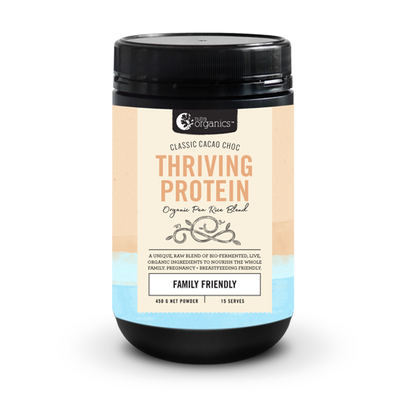 Nutra Organics Thriving Protein - Cacao Choc