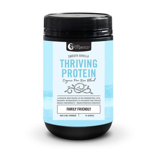 Nutra Organics Thriving Protein - Smooth Vanilla