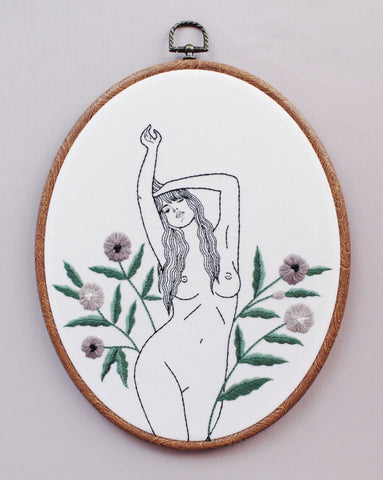 Flower Girl Embroidery