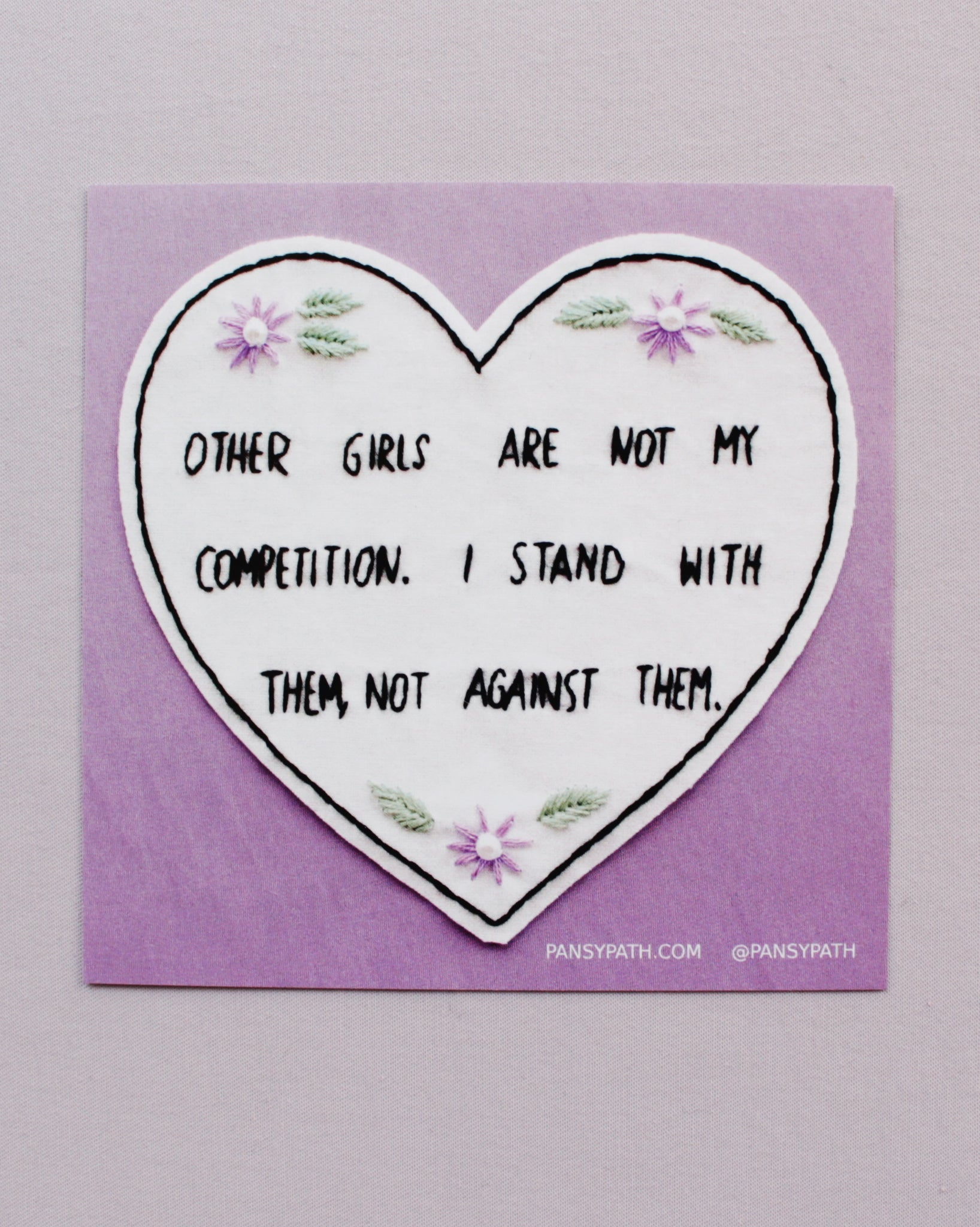 Competition Sticker