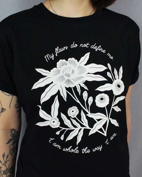 My Flaws Do Not Define Me Shirt Black
