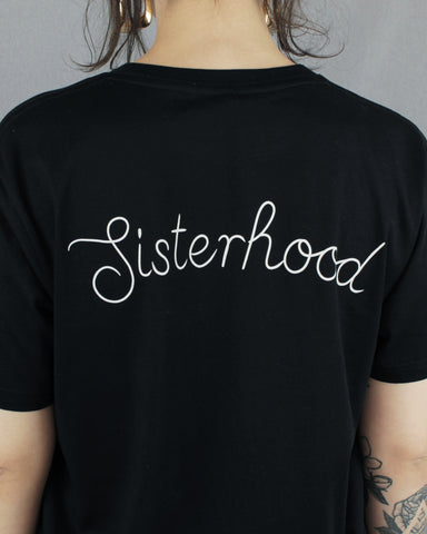 Sisterhood Fairtrade Shirt Black