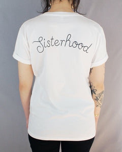 Sisterhood Fairtrade Shirt White