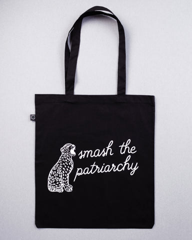 Smash The Patriarchy Bag Black