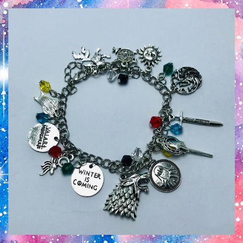 Pulsera Game of thrones - Frikiados - Frikiados.cl - Feria Friki - Chile