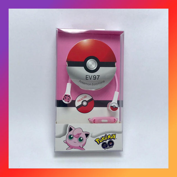 Audífonos in ear Jigglypuff Pokemon