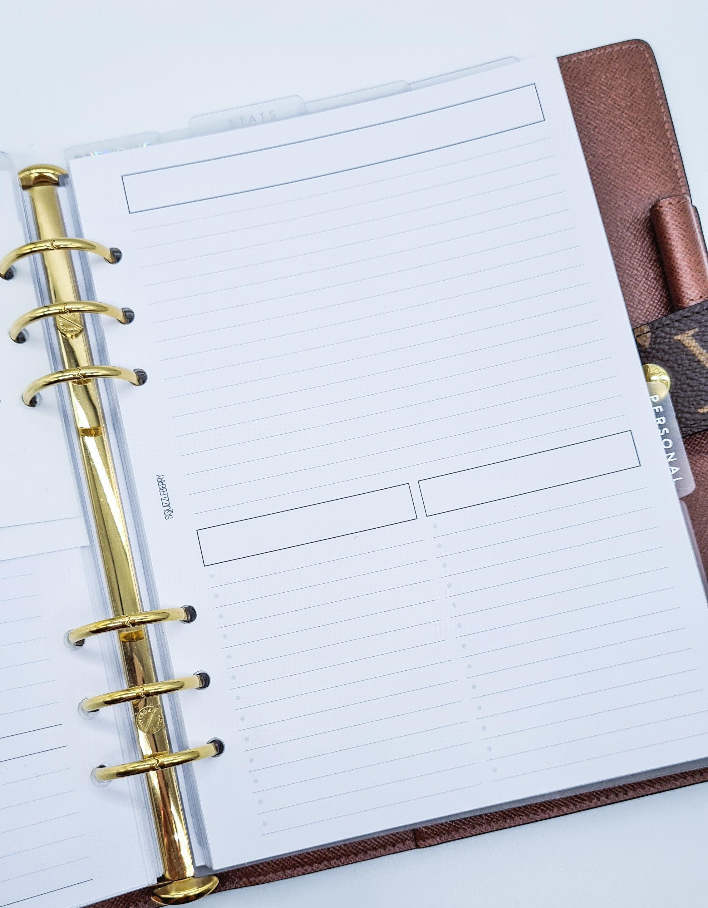notes and to do list free planner printable