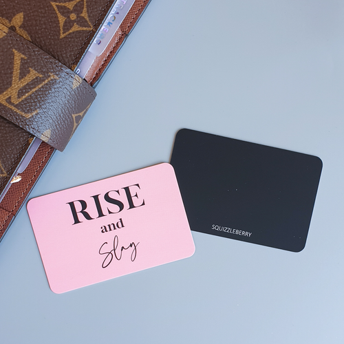 Rise and Slay - Pocket Card | SquizzleBerry
