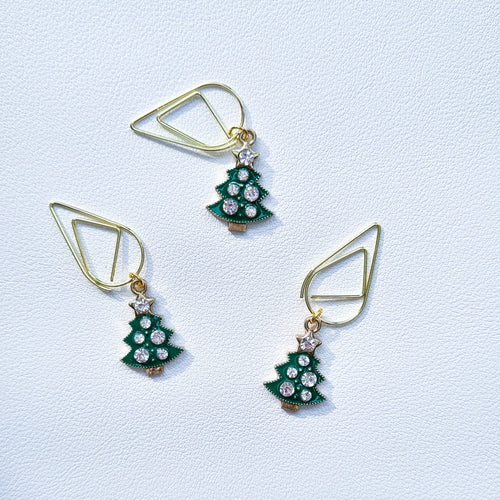Green Xmas Tree - Paper Clip | SquizzleBerry