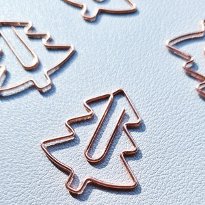 Rose Gold Tree - Paper Clip | SquizzleBerry